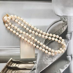 Carolee Vintage Pearl Necklace